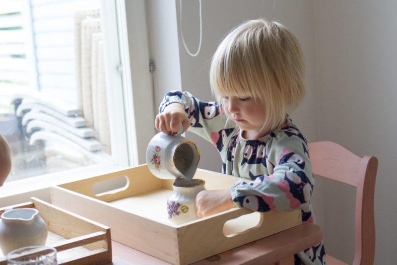 5 Montessori nõuannet lastega tegelemisel