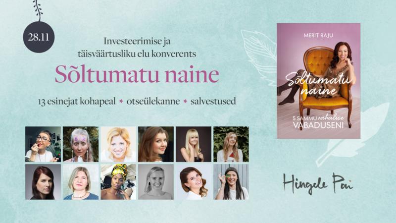 """Konverents """"Sõltumatu naine"""" 28. nov 2020"""